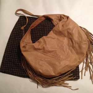 Faux Leather Hobo/Slouch Bag